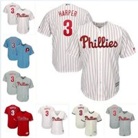 Wholesale womens blank baseball jerseys for sale - Group buy Philadelphia bryce harper phillies jersey baseball jerseys customized blank official cool flex All Stitched jersey Aaron Nola womens mens
