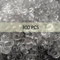 Wholesale rubber band s clips for sale - Group buy Mini DIY Craft Storage S Clip for Loom Rubber Band For Bracelet Making Refill Kit Bands Accessories Plastic Clip