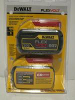pack batteries li ion achat en gros de-DeWalt DCB609-2 Batterie au lithium-ion FlexVolt MAX 20 / 60V MAX DEUX LIVRAISON GRATUITE NISP !!