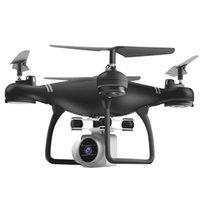 helikopter pilleri toptan satış-Uçak Özçekim RC Quadcopter Uzaktan kontrollü Helikopter Hava Fotoğrafçılığı Uzun Pil HD Kamera Drone Katlanabilir WIFI