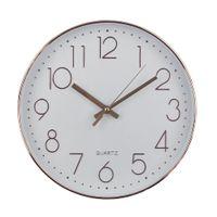 modern antika toptan satış-Sessiz Duvar Saati Modern Tasarım Kuvars Duvar İzle Plastik Antika Tasarımcı Saat Ev Dekor Saat Reloj Oturma Odası