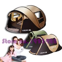 Wholesale outdoor girls tent resale online - 3 person automatic children girl boy keep warm anti mosquito BBQ picnic trekking hiking fishing beach outdoor camping tent
