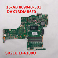 Wholesale intel laptop motherboards cpus for sale - Group buy For AB T Laptop motherboard DAX1BDMB6F0 With SR2EU I3 U CPU Intel DDR3 full Testd