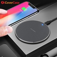 Wholesale qi wireless case resale online - Fast Charger For Blackview BV6800 Pro BV5800 pro BV9500 BV9600 Qi Wireless Charger Charging Pad Power Case Phone Accessory