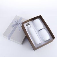 Wholesale ceramics egg for sale - Group buy 3pcs Gift Wine tumbler Set Egg tumbler Set Stainless Steel Double Wall Insulated with one bottle two wine tumbler EEA327