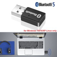 Wholesale mini xp for pc resale online - USB AUX Bluetooth Audio Transmitter Mini Stereo Wireless USB Audio Output For PC Laptop Windows XP Linux car