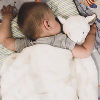 ours de couchage achat en gros de-2018 Infantile Bébé Swaddle Bébés Garçons Filles Ours Couverture + Bandeau Nouveau-Né Bébé Coton Doux Sommeil Sommeil Deux Pièces Ensemble Sacs De Couchage