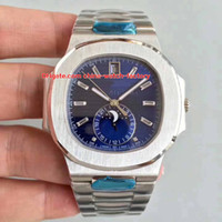 c assistir venda por atacado-6 Estilo Melhor Qualidade Top Maker 40.5mm Nautilus 5976 / 1G-001 904L Aço Cal.9015 324 S C Movimento Transparente Automático Mens Watch Watches