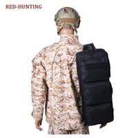 sacos militares pretos venda por atacado-24 '' Gun Bag Tactical Airsoft Ombro Transportando Dual Rifle Case Preto Caça Militar Rifle Saco de Engrenagem # 562923