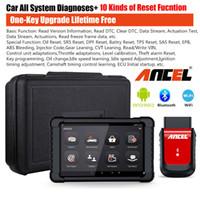comprimido opel venda por atacado-ANCEL X6 WiFi OBD2 Scanner de diagnóstico ABS SRS EPB DPF Óleo TPMS Ferramenta com Tablet