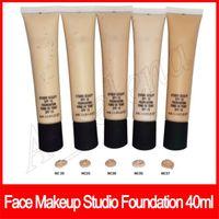Wholesale professional liquid makeup resale online - Professional Face Makeup Studio Foundation Sculpt Liquid Foundation Long Lasting Fond De Teint ML NC15 NC20 NC25 NC30 NC35 NC37 NC40