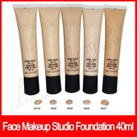 gesicht skulptur make-up großhandel-Professionelle Gesicht Make-up Studio Foundation Sculpt Flüssige Foundation Langlebige Fond De Teint 40 ML NC15 NC20 NC25 NC30 NC35 NC37 NC40