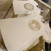 robe t-shirt imprimé achat en gros de-Le VER * Manches courtes Diamond Print Robes et T-shirts pour garçons et filles Set Frère et Soeur