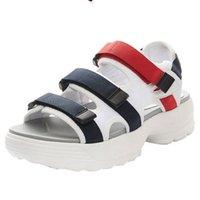 sandálias de água mulher venda por atacado-New arrivel homens originais mulheres Verão Sandals tamanho Black Red White Anti-escorregamento de secagem rápida chinelos ao ar livre sapatos Soft Water 36-44