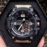venta de relojes inteligentes al por mayor-2020 venta caliente elegante reloj de los hombres del Ejército Militar impermeable de los deportes Relojes automático de luz LED de Moda Relojes de goma Hombre Reloj GG Style 1000 Relojes