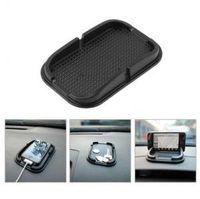 tapete do telefone móvel venda por atacado-Carro Anti-Slip Mat Dashboard 15.5 * 10 cm Suporte de Almofada Pegajosa para GPS Do Telefone Móvel Titular Organizador Do Carro OOA6257