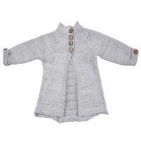 трикотажная детская одежда для девочек оптовых-Toddler Kids Baby Girls Outfit Clothes Button Knitted Sweater Cardigan Coat Tops
