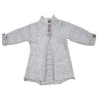 ingrosso indumenti da cardigan in maglia-Toddler Kids Baby Girls Outfit Vestiti Button Pullover maglione Cardigan Top