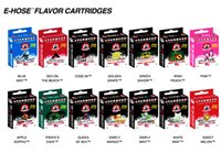 Wholesale 14 hose online - 14 Flavours great taste Starbuzz E Hose cartridges refillable Multi Flavor E Hose atomizer for Starbuzz ehose Mod pack E Hookah