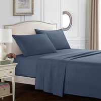 Wholesale pure linen queen bedding sets for sale - Group buy nordic Bed covers bedding set Embroidery bed linen set pure Queen King bedspread fitted sheet flat sheets Pillow case