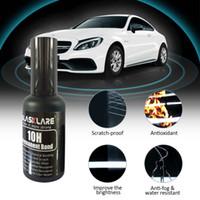 Wholesale h body cars for sale - Group buy 50ML ML H Nano Liquid Glass Crystal Coating Car Ceramic Spray Coating Of Nanocrystalline Crystal Car Body Varnish