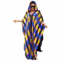 pantalones cortos chinos delgados al por mayor-Longitud del envío gratis 150 cm Vestidos africanos para mujeres 2019 Ropa africana Vestido largo musulmán Vestido africano de moda de alta calidad