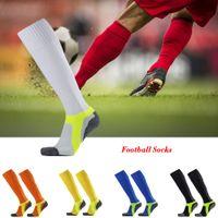 toalheiro venda por atacado-New alta qualidade profissional, toalha de fundo Futebol Socks Meias Anti-Slip tornozelo Proteção meias esportivas