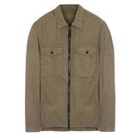 top alt großhandel-18FW 107WN OVERSHIRT OLD GARMENT DYE Hemd TOPST0NEY Herren Damen Jacke Facshion Cotton Coat Top HFLSJK324
