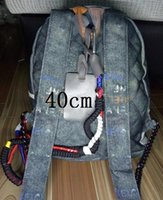 Wholesale travel satchel bags resale online - 2019 New fashionable large graffiti bags shoulder bags travel bags and canvas bags