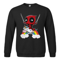 Wholesale quality pink hoodie for sale – custom Deadpool Hoodie Men Deal Pool Funny Hoodies Mens Winter Autumn Super Hero Hooded Sweatshirt Grey Hip Hop Streetwear High Quality