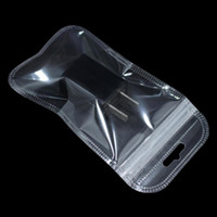 Wholesale electronics packaging bags resale online - 200pcs Zip Lock Plastic Clear Jewelry Storage Bag with Hang Hole Zipper Closure Electronic Accessories Package Supplies Bags