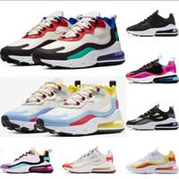 erkek optik toptan satış-nike air max 270 react  Koşu Ayakkabıları En İyi Kalite Kadınlar Moda Spor Atletizm Sneakers