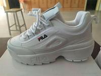 chaussures à talons hauts en coussin achat en gros de-Hauteur Augmentant Femmes Chaussures De Course Noir Blanc Baskets Femme Sport En Plein Air Chaussures Athlétique Talon Haut Coussin