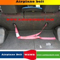 Wholesale chair seat belts resale online - 2 meter length ISOFIX interface kid chair ariplane buckle hook secured fix protecting adjusters toddlers car safety seat belt