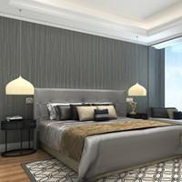 серый бежевый декор оптовых-Серый, бежевый Peint Modern Dark Papier Синий Wall Papers Home Decor Лишенный обои для гостиной стены спальни Обложка Mural