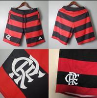 weißer fußball kurz großhandel-2019 2020 weiß CR Flamengo-Fußballshorts 19 20 Flamenco GABRIEL B. camisetas futbol Fußball-Kurzhose S-XL