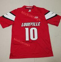 Wholesale elite stitch football jerseys resale online - Mens Red NCAA Jaire Alexander Louisville Cardinals COLLEGE football Jersey Stitched Green Elite Jaire Alexander Jerseys S XL