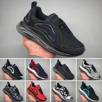 sapatos de porta venda por atacado-Nike Air Max 720 Venda quente juventude Running Shoes kid Sneakers correndo porta Sports shoes tamanho 28-35 almofada atmosférica amortecimento