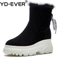 Venta al por mayor de Suede Short Boots Wedge Heel Comprar