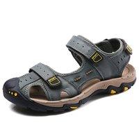 sandales à fond épais marron achat en gros de-Sandales à la cheville confortables et épaisses au bas avec support de voûte plantaire pour une marche confortable brun gris