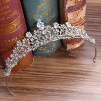 Wholesale quinceanera hair accessories for sale - Group buy CZ Bridal Tiaras Wedding Crowns Crystal Bridal Hairpieces Wedding Hair Accessory Bridal Jewelry Quinceanera Princess Crowns