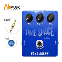gitarrenpedal kalibrieren groihandel-Großhandel Caline CP17 Zeit Raum Echo Verzögerung Digital Gitarre Effektpedal 600ms Max True Bypass Free Drop Shipping Free Connector