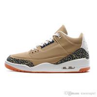 hava retro x toptan satış-Erkek basketbol ayakkabı retro jumpman 3 hava Atmos x Hornets Mor Bio Bej 1 3 S çocuklar sneakers32 orijinal boyut 7-13
