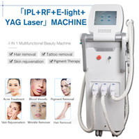 q machine de retrait de laser de commutateur achat en gros de-Elight OPT SHRRFNd Yag laser OPT SHR IPL épilation au laser clinique beauté machine Q Switch ndyag laser équipement de poupée noire