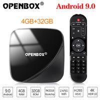 Wholesale rockchip android tv box resale online - Openbox VX Pro VX Plus Android TV Box GB GB TV Box Rockchip RK3318 Support p K fps USB3