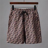 erkek pansiyon şort toptan satış-2019 Yaz ff Erkekler Kısa Pantolon Markalar Giyim Mayo Naylon Erkekler marka Plaj Şort Küçük at Yüzmek Aşınma Kurulu Şort boy