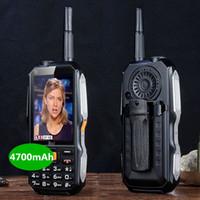 tv qwerty móvel venda por atacado-DBEIF D2017 voz mágica Dual SIM card lanterna FM externa à prova de choque mp3 / mp4 antena banco de potência TV analógica Robusto telefone celular móvel