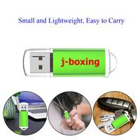 yeşil flaş sürücüler toptan satış-J-boks Yeşil Dikdörtgen 32 GB USB 2.0 Flash Sürücüler Yeterince Bellek Sopa 32 gb PC Dizüstü Macbook Tablet için Flaş Kalem Sürücü ...