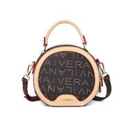 рисунок нитки оптовых-PU Cross Body Bag Мода Печать Fower Письмо Pattern Сумка Круглая Нить Горячей Продажи Одноместный Сумка Shoudle