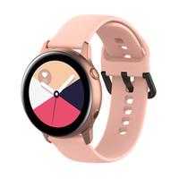 галактика механизм умный смотреть оптовых-Сменные силиконовые ремешки для смарт-ремешков для силиконовых ремешков Сменные ремешки для Samsung Galaxy Watch Active R500 Active 2 Gear 300PCS